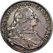 1 Thaler - Maximilian III Joseph (2nd portrait) – obverse