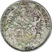 1 Thaler - Maximilian III Joseph (2nd portrait) – reverse