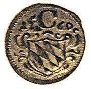 1 Pfenning - Maximilian III – obverse
