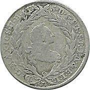 10 Kreuzer - Maximilian III Josef (Konventionskreuzer) – obverse