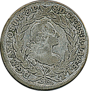 20 Kreuzer - Maximilian III. Josef (Konventionskreuzer) – obverse