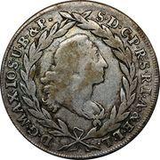 20 Kreuzer - Maximilian III Joseph (Konventionskreuzer) – obverse