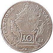 10 Kreuzer - Karl IV. Theodor (Konventionskreuzer) – reverse