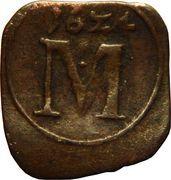 1 Pfennig - Maximilian I – reverse