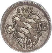 ½ Kreuzer - Maximilian III. – obverse