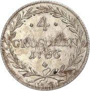4 Groschen - Maximilian III. – reverse