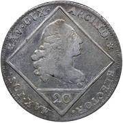 20 Kreuzer - Maximillian III Joseph (Konventionskreuzer) – obverse