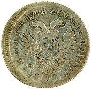 10 Kreuzer - Karl Theodor (Vicariat) – reverse