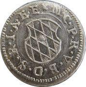 2 Kreuzer - Maximilian I – obverse