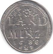 10 Pfennig - Maximilian II Emanuel – reverse