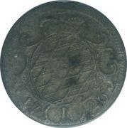 1 Kreuzer - Karl Albrecht – reverse