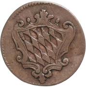 1 Pfenning - Maximilian IV, Josef – obverse