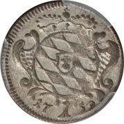 1 Kreuzer - Maximilian III Josef – reverse