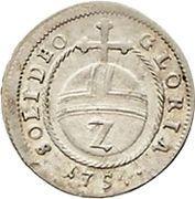 2 Kreuzer - Maximilian Josef III (Kreuzer Landmünze) – reverse