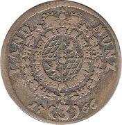 3 Kreuzer - Maximilian III Joseph – reverse