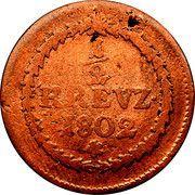 ½ Kreuzer - Maximilian IV. Joseph – reverse