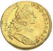 1 Ducat - Maximilian III Joseph (Isargold-Dukat) – obverse