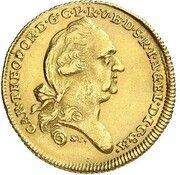 1 Ducat - Karl Theodor (Donaugold-Dukat) – obverse