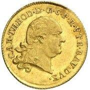 1 Ducat - Karl Theodor – obverse