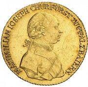 1 Ducat - Maximilian IV. Josef – obverse