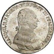 ½ Conventionsthaler - Maximilian I. Josef – obverse