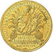 5 Ducats - Maximilian II. Emanuel (Birth of Prince Joseph Ferdinand) – obverse