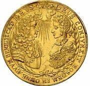 5 Ducats - Maximilian II. Emanuel (Marriage of Maximilian II. Emanuel & Maria Antonia von Österreich) – obverse