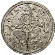 60 Kreuzer - Maximilian I (Kipper) – reverse