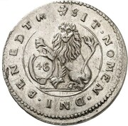 48 Kreuzer - Maximilian I (Kipper) – reverse