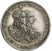 5 Ducats - Ferdinand Maria (Birth of Princess Maria Anna - Silver Pattern) – obverse