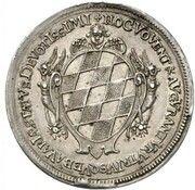 5 Ducats - Ferdinand Maria (Birth of Princess Maria Anna - Silver Pattern) – reverse