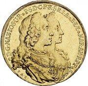 5 Ducats - Maximilian III Josef (Marriage of Maximilian III Josef and Maria Anna von Sachsen) – obverse