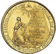 5 Ducats - Maximilian III Josef (Marriage of Maximilian III Josef and Maria Anna von Sachsen) – reverse