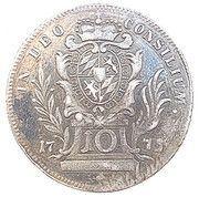 10 Kreuzer - Maximilian III Joseph – reverse