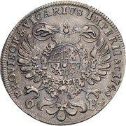 6 Kreuzer - Maximilian III Josef – reverse