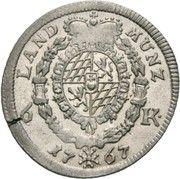 6 Kreuzer - Maximilian III. Josef (Kreuzer Landmünze) – reverse