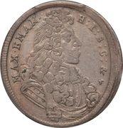 15 Kreuzer - Maximilian II Emanuel – obverse