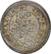 15 Kreuzer - Maximilian II Emanuel -  obverse