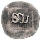 1 Pfennig - Stephan III. der Knäufel and Ludwig VII. – reverse