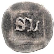 1 Pfennig - Stephan III der Knäufel and Ludwig VII – reverse