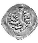 1 Pfennig - Kaiser Ludwig IV (Upper Bavaria, 2nd type) – obverse