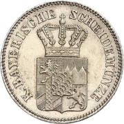 6 Kreuzer - Ludwig II – obverse