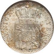 3 Kreuzer - Ludwig I – obverse
