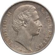 1 Gulden - Ludwig II – obverse