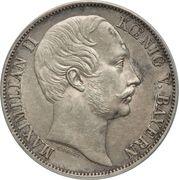 1 Vereinsthaler - Maximilian II – obverse