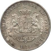 1 Vereinsthaler - Maximilian II – reverse