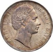 1 Vereinsthaler - Ludwig II – obverse