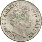 1 Kreuzer - Ludwig I – obverse