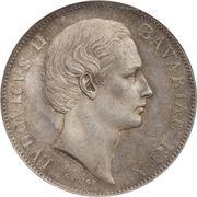 "1 Vereinsthaler - Ludwig II (""Madonnentaler"") – obverse"