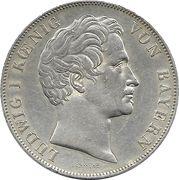 2 Gulden - Ludwig I -  obverse
